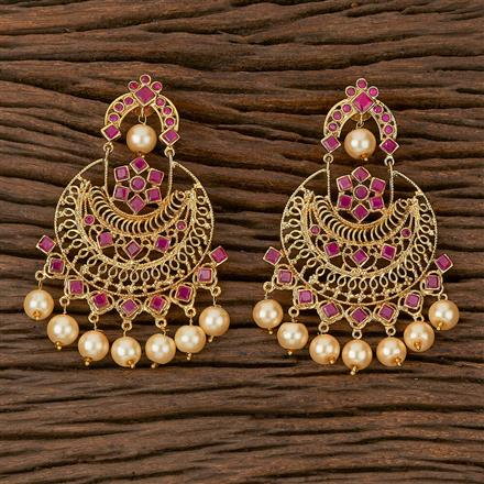 500215 Antique Classic Earring With Gold Plating