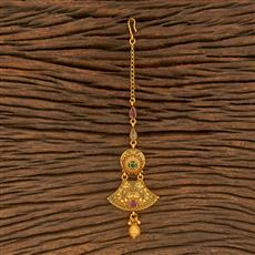 500376 Antique Classic Tikka With Matte Gold Plating