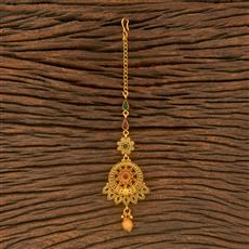 500378 Antique Classic Tikka With Matte Gold Plating