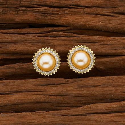 50368 American Diamond Tops with gold plating
