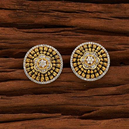 50712 American Diamond Tops with gold plating
