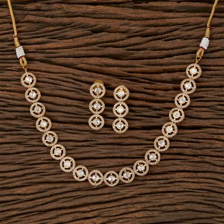 510015 Kundan Classic Necklace With Gold Plating
