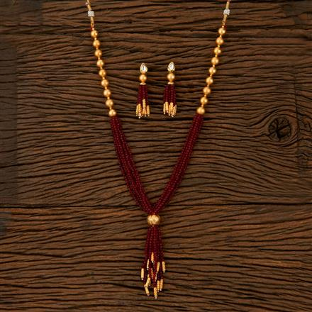 510019 Kundan Classic Necklace With Gold Plating