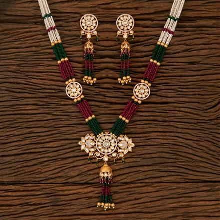510022 Kundan Classic Necklace With Gold Plating