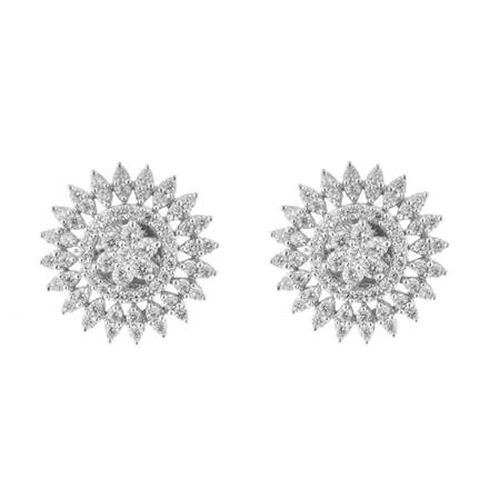 51556 American Diamond Tops with rhodium plating