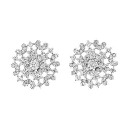 51563 American Diamond Tops with rhodium plating