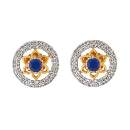 51580 American Diamond Tops with 2 tone plating