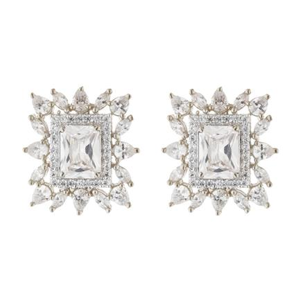 51583 American Diamond Tops with rhodium plating