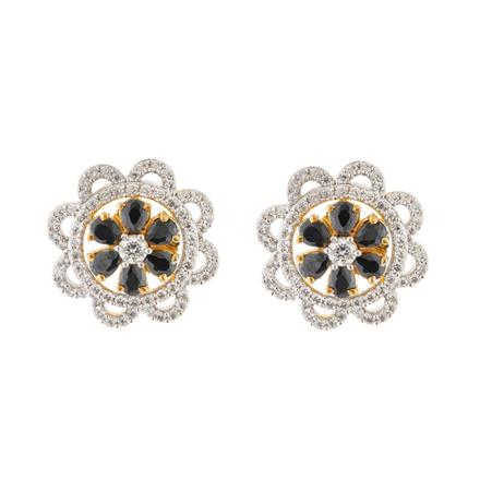 51586 American Diamond Tops with 2 tone plating