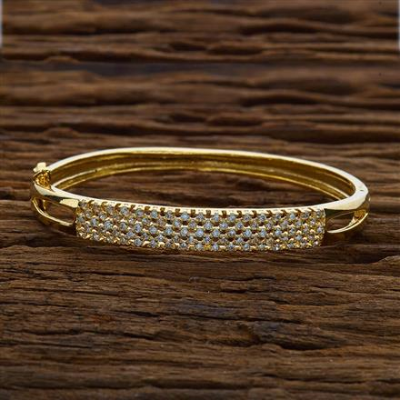 51722 CZ Classic Kada with gold plating