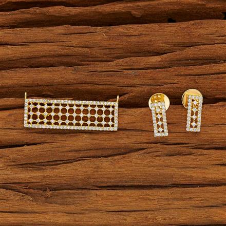 51920 CZ Classic Mangalsutra with gold plating