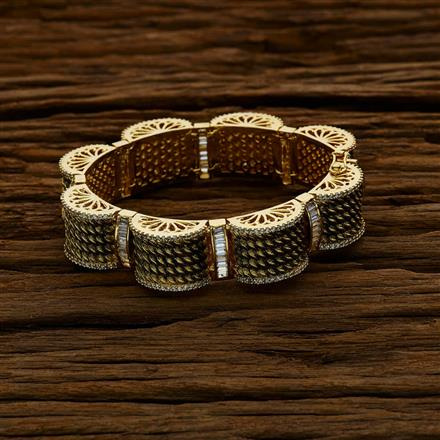 52606 CZ Classic Bracelet with gold plating