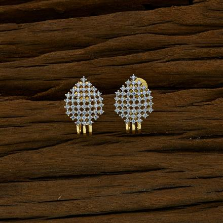 52644 American Diamond Bali with 2 tone plating