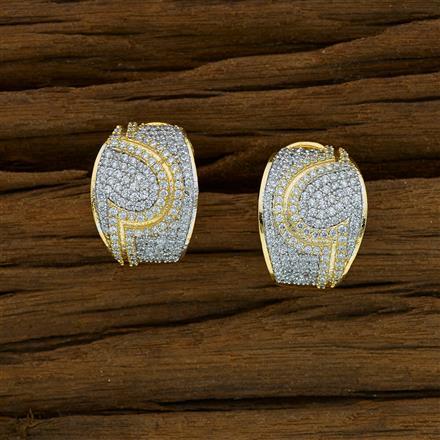 52846 American Diamond Bali with 2 tone plating