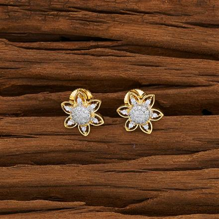 53073 American Diamond Tops with 2 tone plating