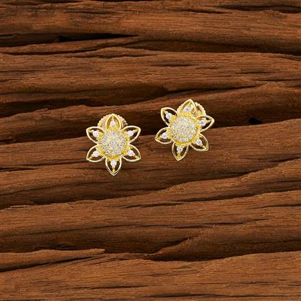 53074 American Diamond Tops with gold plating