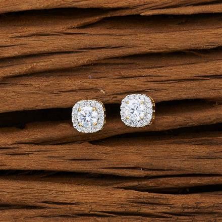 53075 American Diamond Tops with 2 tone plating