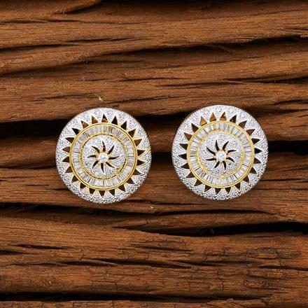 53078 American Diamond Tops with 2 tone plating