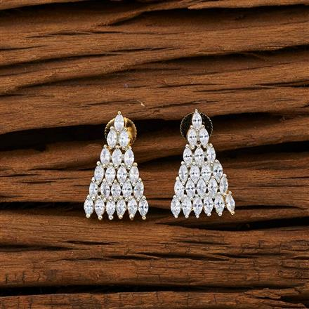 53081 American Diamond Tops with 2 tone plating