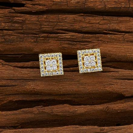 53084 American Diamond Tops with gold plating