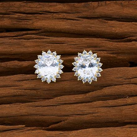 53086 American Diamond Tops with gold plating
