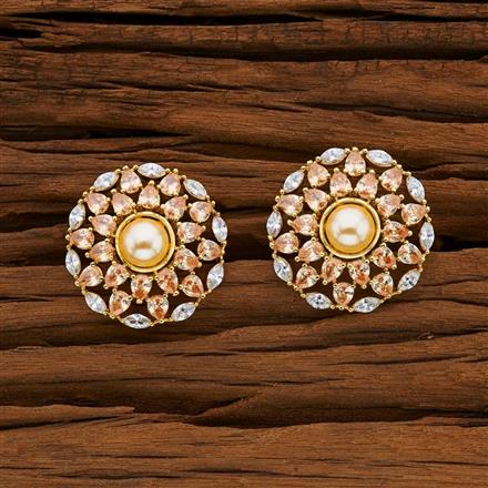 53087 American Diamond Tops with gold plating