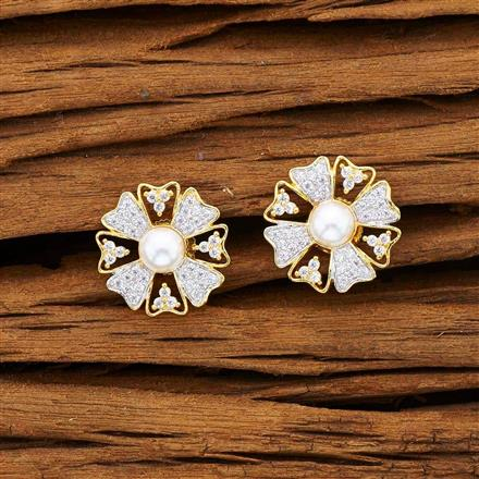 53196 American Diamond Tops with 2 tone plating