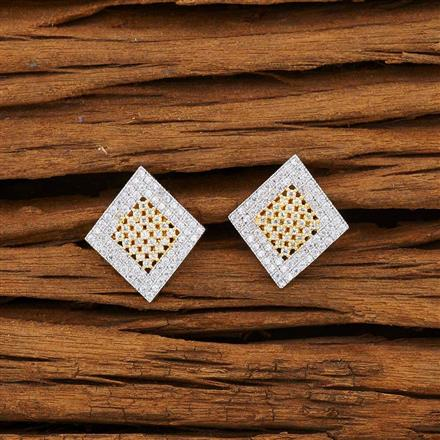 53198 American Diamond Tops with 2 tone plating