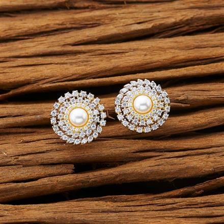 53200 American Diamond Tops with 2 tone plating