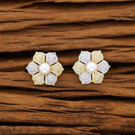 53204 American Diamond Tops with 2 tone plating