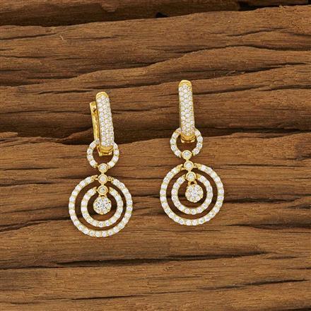 53382 American Diamond Bali with gold plating