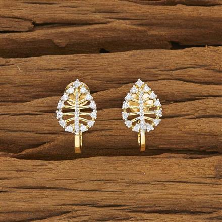 53384 American Diamond Bali with 2 tone plating