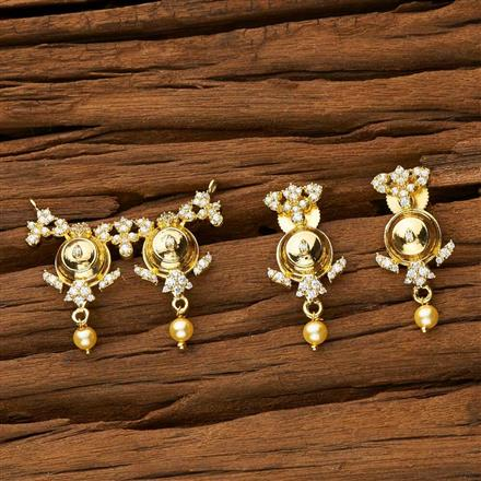 53436 CZ Classic Mangalsutra with gold plating