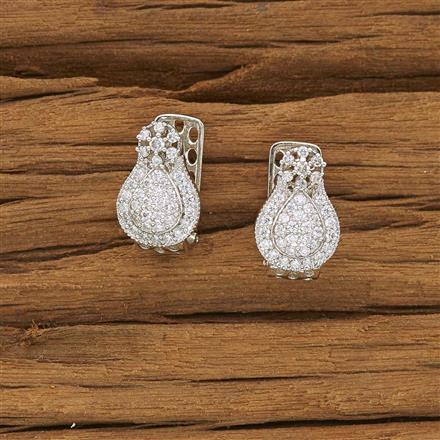 53446 American Diamond Bali with rhodium plating