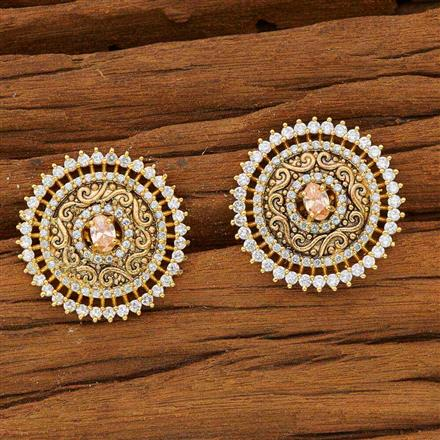 53581 American Diamond Tops with gold plating