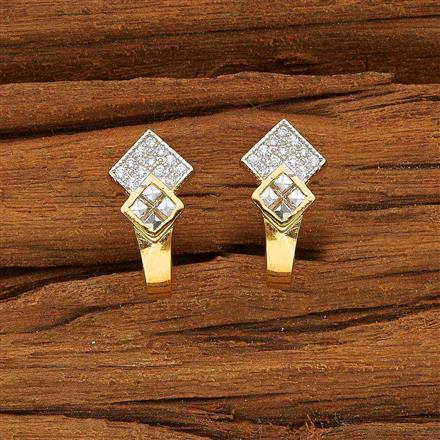 53711 American Diamond Bali with 2 tone plating