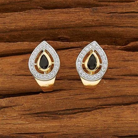 53712 American Diamond Bali with 2 tone plating