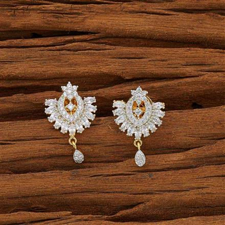 53727 American Diamond Tops with 2 tone plating