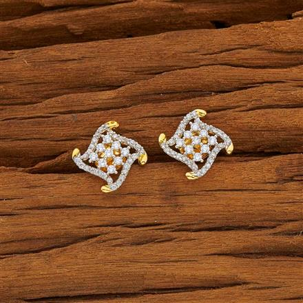 53801 American Diamond Tops with 2 tone plating