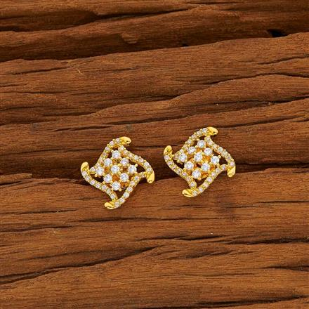 53802 American Diamond Tops with gold plating