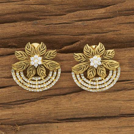 53898 American Diamond Tops with gold plating
