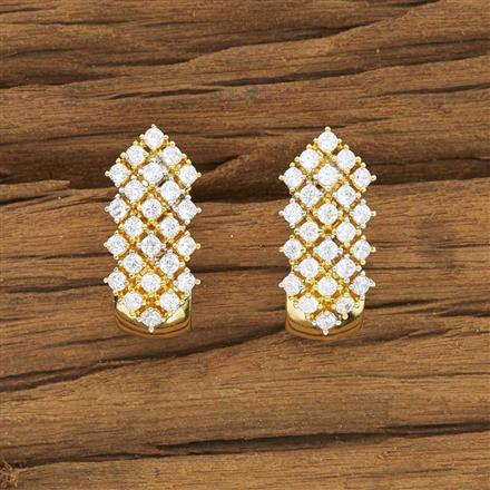 53901 American Diamond Bali with 2 tone plating