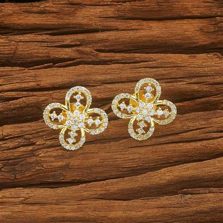 54001 American Diamond Tops with gold plating