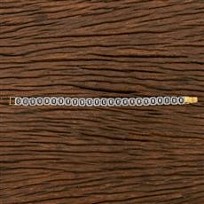 540147 Cz Classic Bracelet With 2 Tone Plating