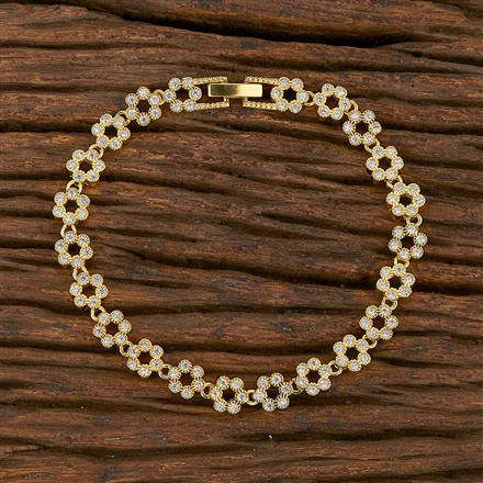 540150 Cz Classic Bracelet With Gold Plating