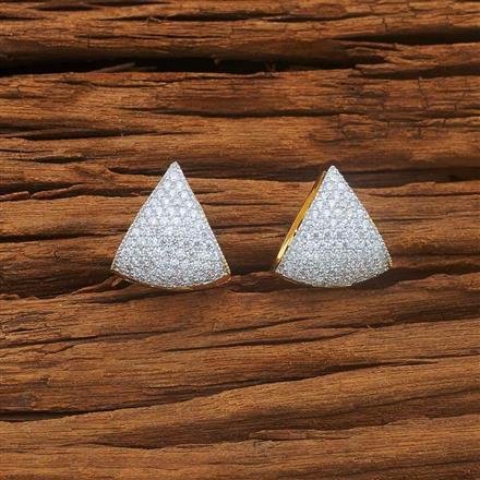 54045 American Diamond Bali with 2 tone plating
