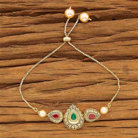 54118 CZ Adjustable Bracelet with gold plating