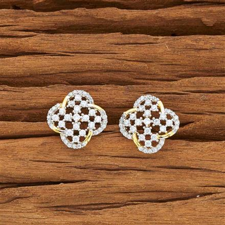 54124 American Diamond Tops with 2 tone plating