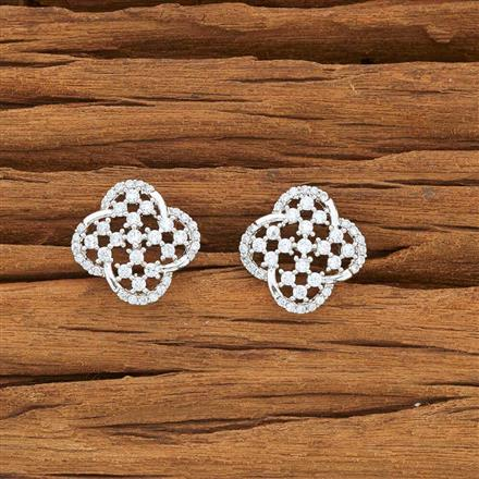 54125 American Diamond Tops with rhodium plating