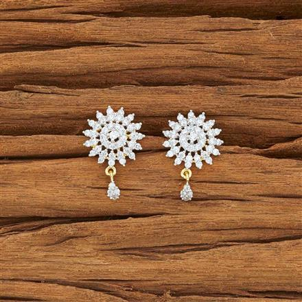 54127 American Diamond Tops with 2 tone plating